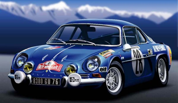 la galaxie automobile alpine renault a110 1600s berlinette 1970 1973. Black Bedroom Furniture Sets. Home Design Ideas